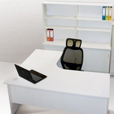 2 Piece Workstation – White