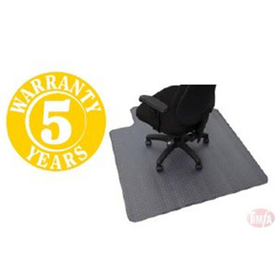 Chair Mats SMALL DIMPLED 1200 X 915 $59.00, LARGE 1350×1150 $79.00