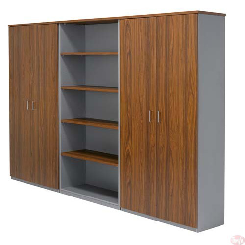 AMS full door cabinet and bookcase