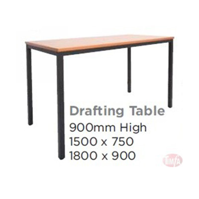 STEEL FRAME DRAFTING TABLE (900 HIGH)