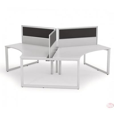 Office Workstation Desk 120°