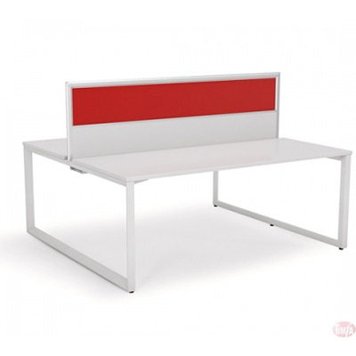 2 Person Shared Doublesided Desk