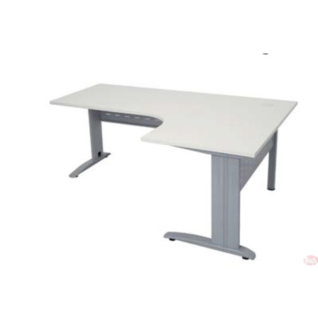 L-Shaped Height Adjustable Office Desk