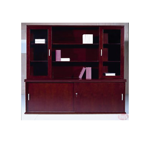 D297 CREDENZA and BOOKCASE HUTCH