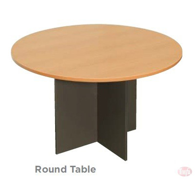 Round Table with cross base