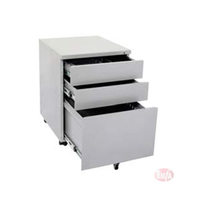 Metal 3 Drawer Mobile Pedestal
