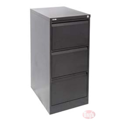 GFCA3 3 DRAWER FILING CABINET (ASSEMBLED)