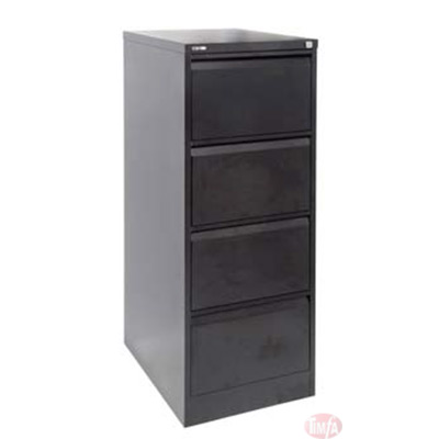 GFCA4 4 DRAWER FILING CABINET (ASSEMBLED)