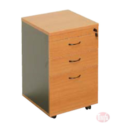 CMP2D1F STD MOBILE PEDESTAL 2 drawer, 3 drawer, 4 drawer