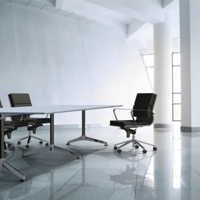 Modulus Table (Single Post) Boardroom Table
