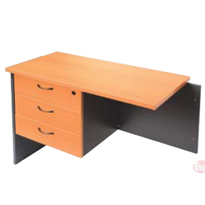 CRP3D Fixed Desk/ Return Pedestal