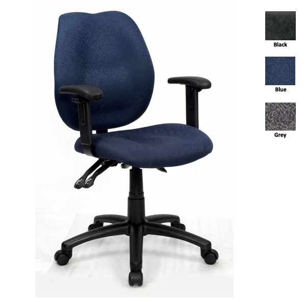 Sabrina Office Chair (With Adjustable Arms)