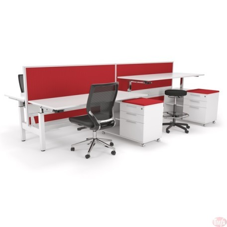 AXIS Height Adjustable Desk – Double Sided