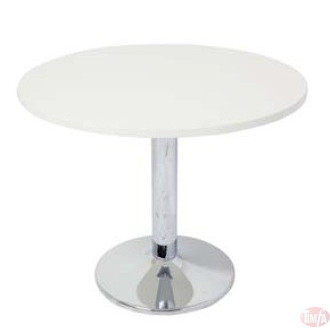 CBT9 Chrome Base Round Meeting Table