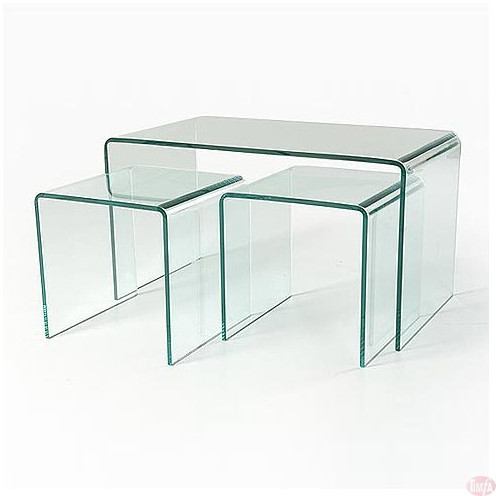 TB007 Glass Coffee Table