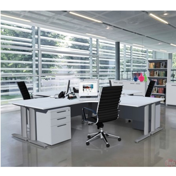 Office Workstation Desk 90°