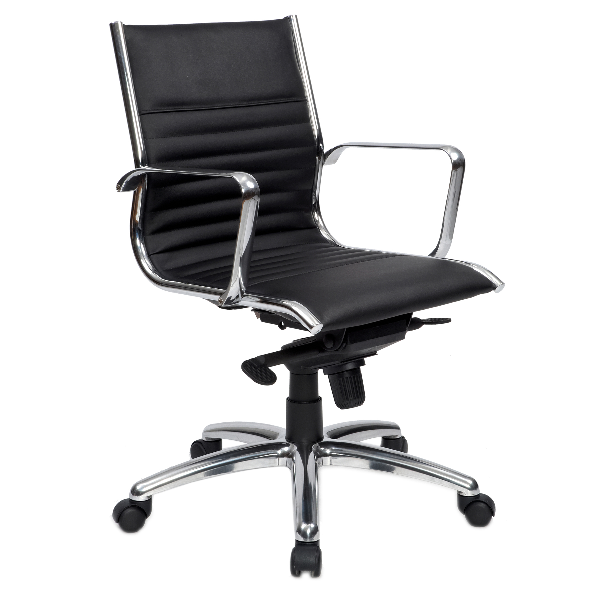 Crescent Genuine Leather Boardroom Chair