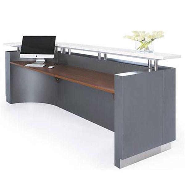 Executive C-Shape Reception Counter