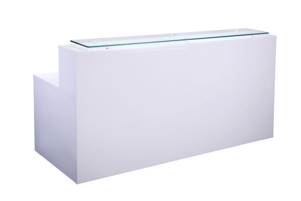 White 2000 Reception Counter