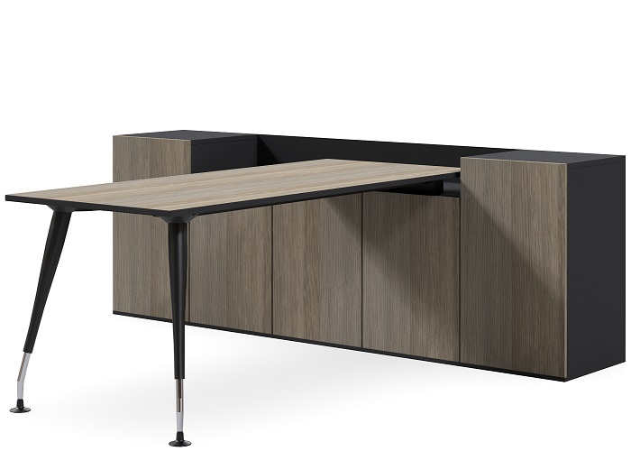 2 Tone Storage Executive Desk
