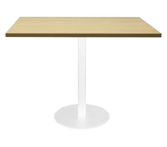 Square Disc Base Meeting Table