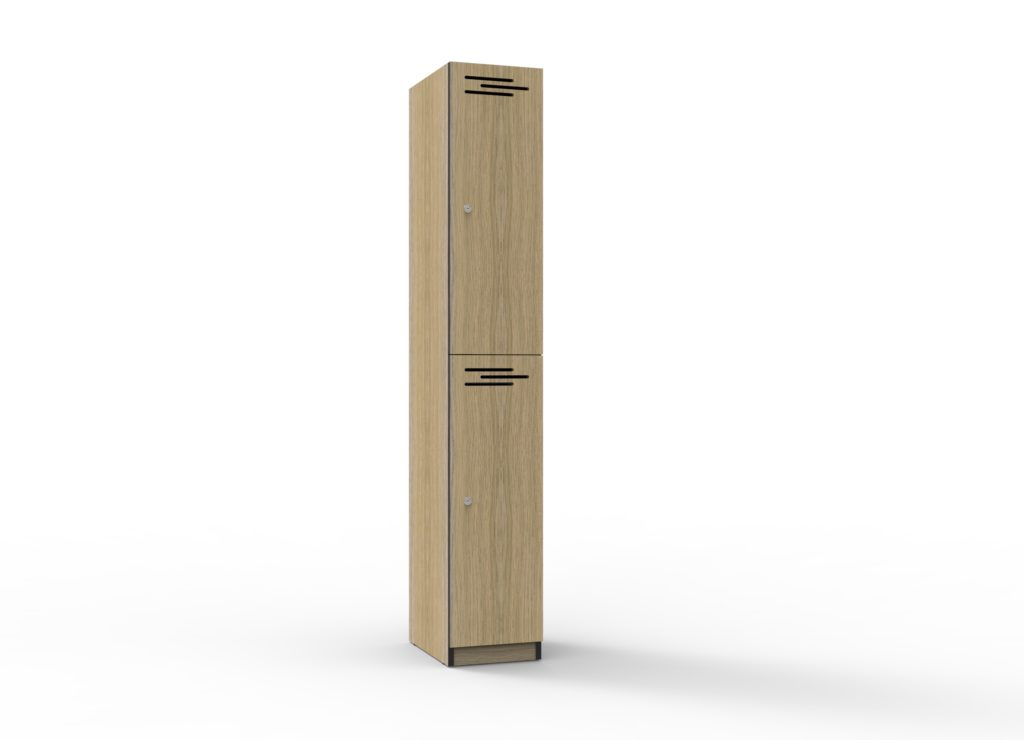 TF 2 Door Melamine Locker