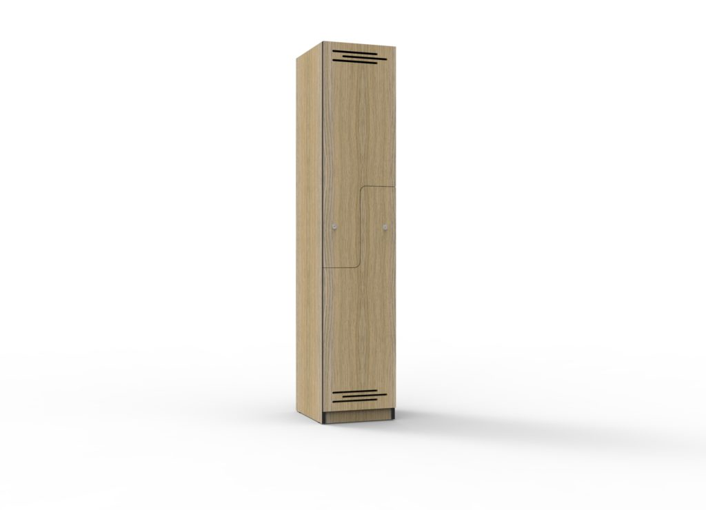 TF Step Door Melamine Locker