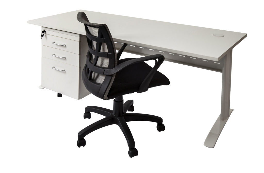 Span Office Desk +  Chair Combo
