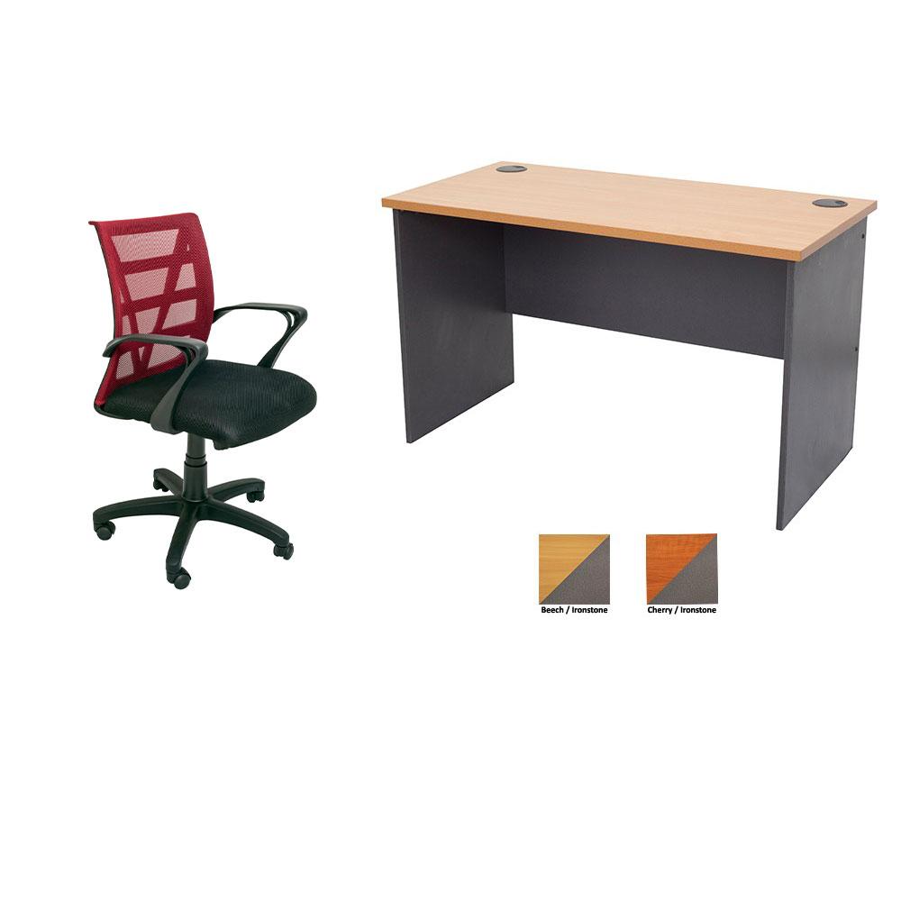 TF Open Desk + Vienna Chair Combo