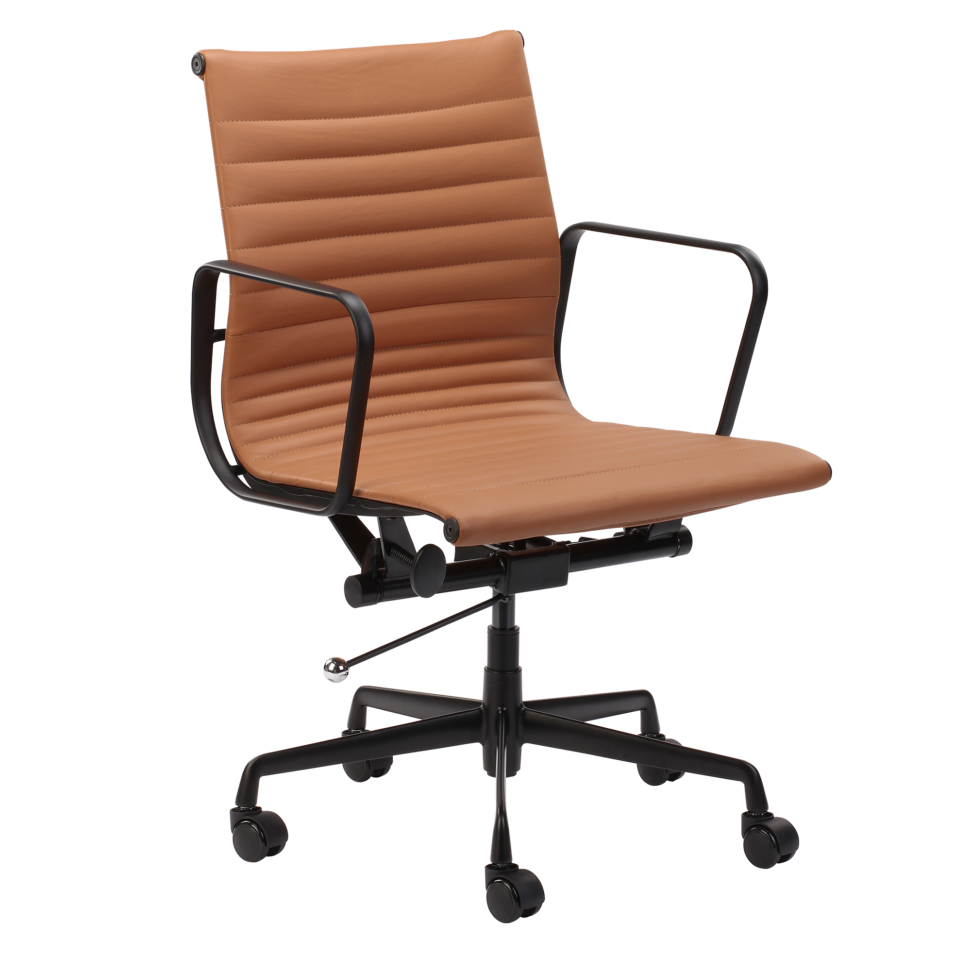 Stealth Executive Boardroom Chair (Tan/Black)