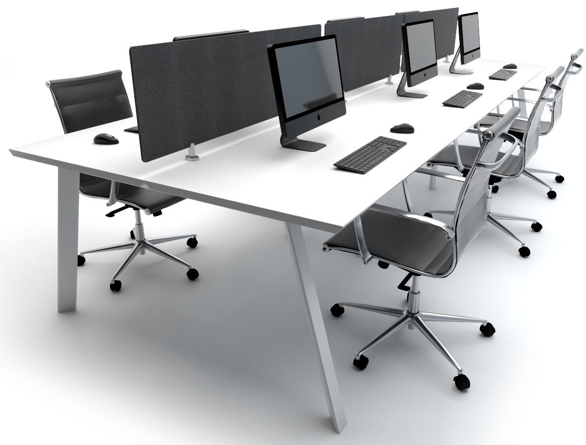 Flex 6 Person Workstation