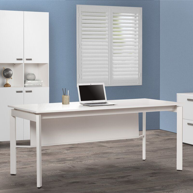 Alaska Manager Desk with Modesty Panel