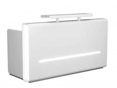 Charm Reception Desk with LED Lighting