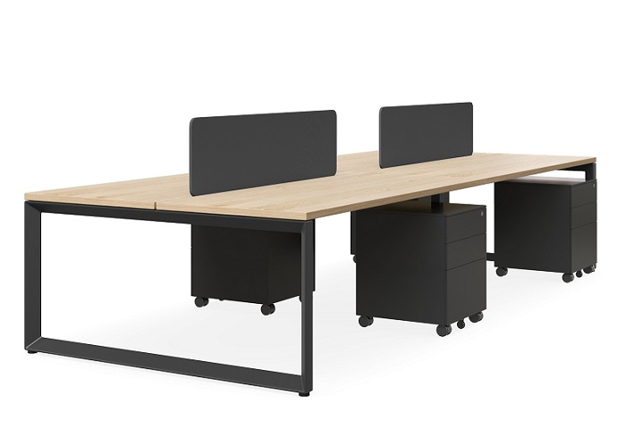 Forum Optic Double Sided 4 Person Workstation Pod