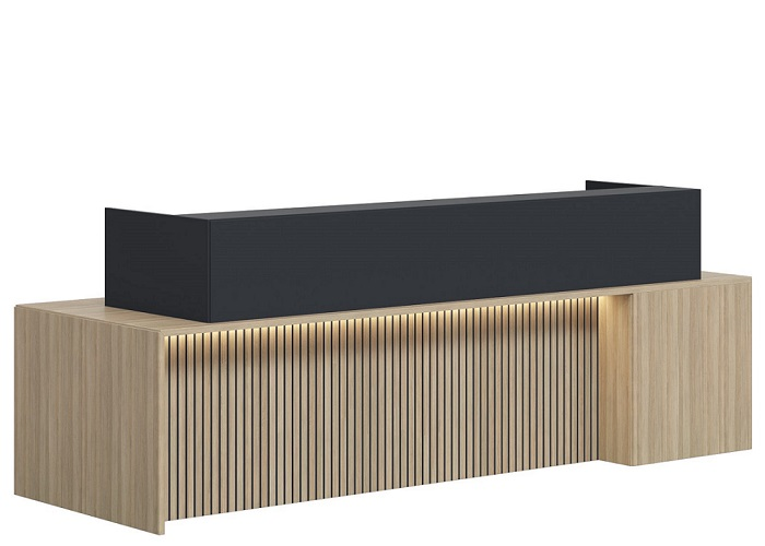 Sterling Reception Desk (Custom Made to Order)