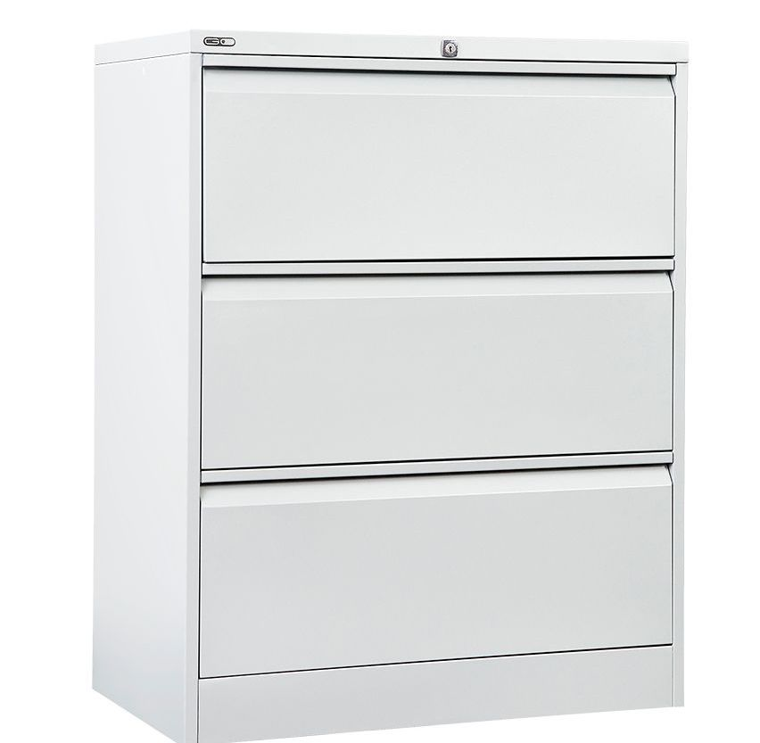 GO Heavy Duty 3 Drawer Lateral Filing Cabinet – Assembled