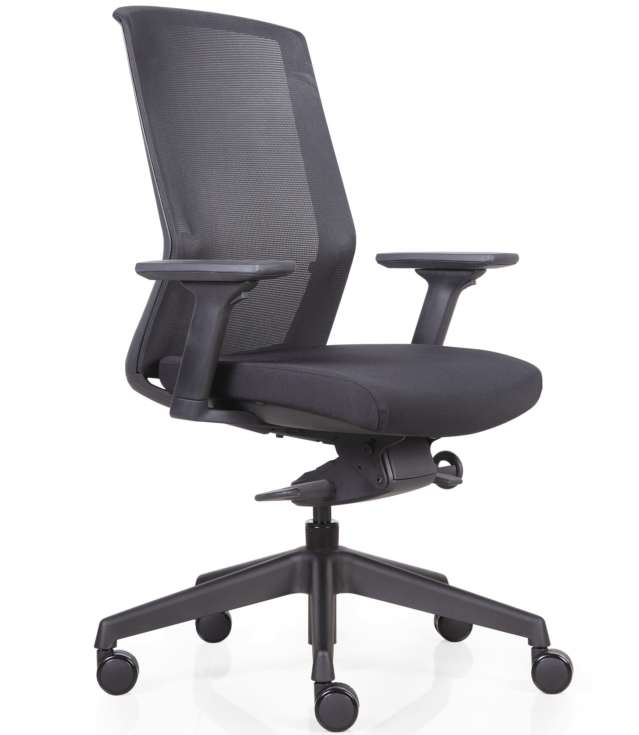 Breeze High Back Mesh Chair (Height Adjustable Arms)