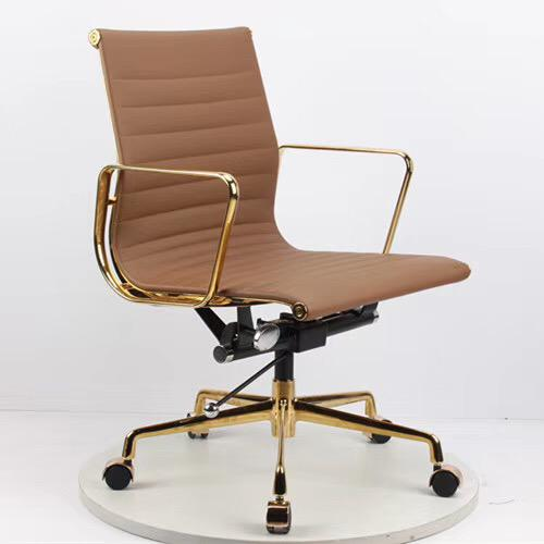 Stealth Executive Boardroom Chair (Brown/Gold)