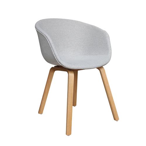 Oreo Full Padded Timber Frame Visitor Chair