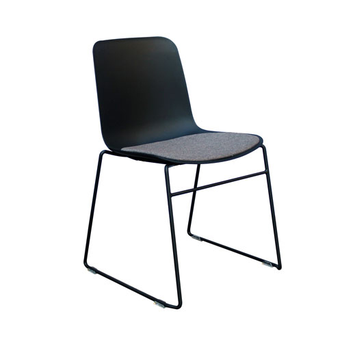 Rose Sled Frame Visitor Chair (2 Colour Options)