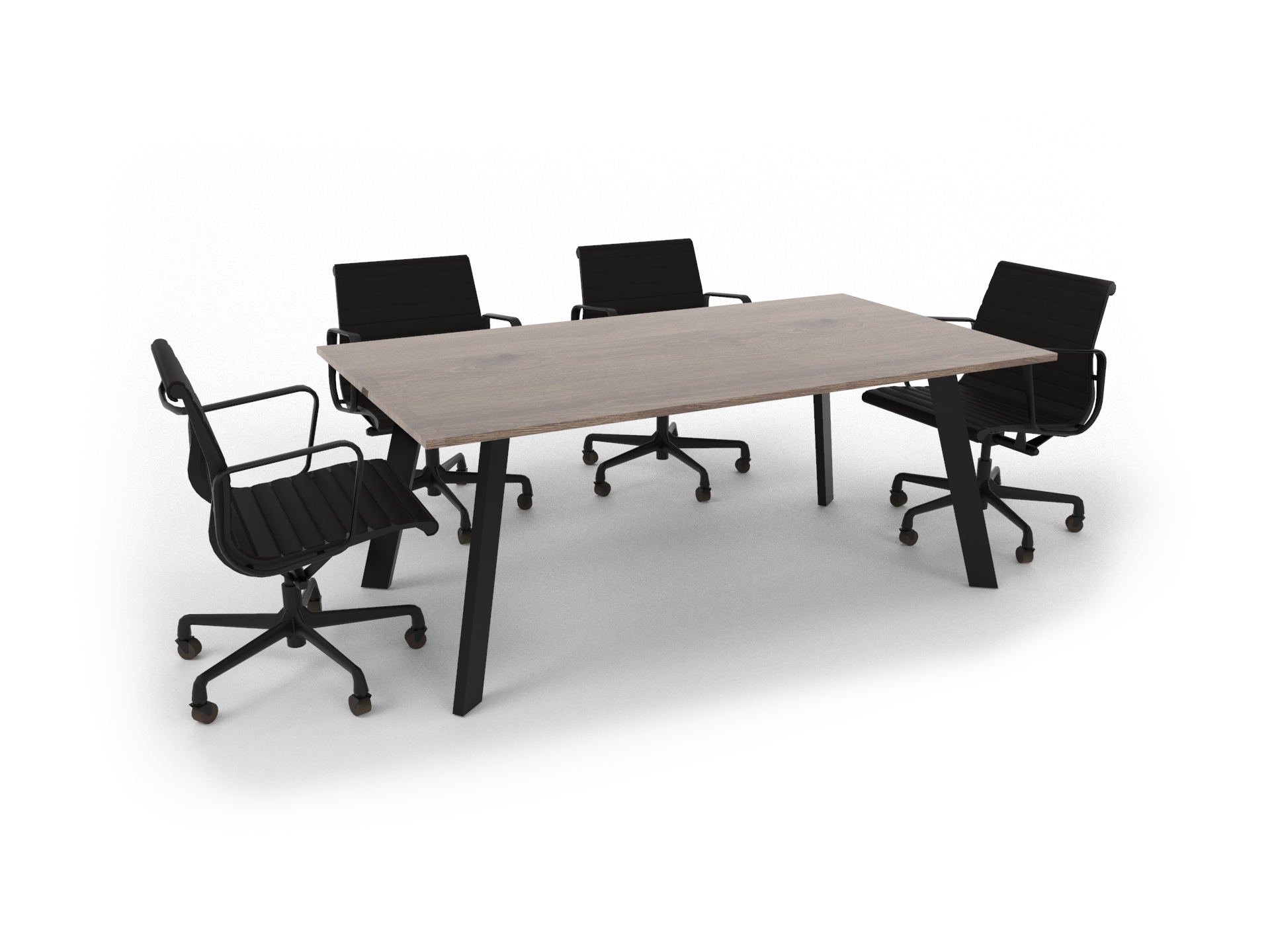 Alpha Boardroom Table (6 Size Options)