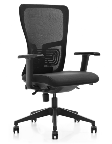 Moore Mesh Mid-Back Chair (No Headrest)
