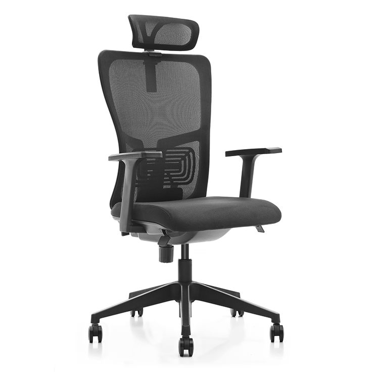 Moore Mesh Mid-Back Chair with Headrest