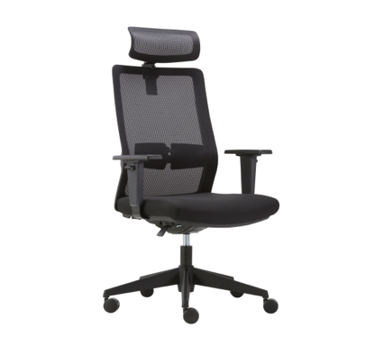 Kongo Executive High Back Mesh Chair with Headrest